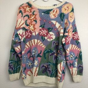 Northern isles knit by hand vintage sweater